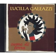 LUCILLA GALEAZZI - Cuore di terra - CD 1997 OTTIME CONDIZIONI