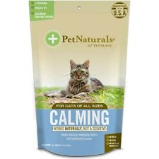 Pet Naturals of Vermont - Calming for Cats - Wheat Free 1.5oz Bag NEW Sealed Bag