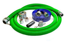 "2"" EPDM Water Suction Hose Honda Kit w/50' Blue Discharge Hose"