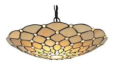 Searchlight 1468CL Raindrop 1 Light Ceiling Pendant Antique Brass Shade Only