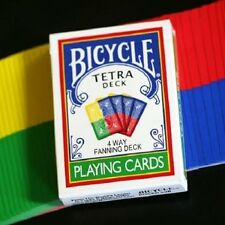 Bicycle Tetra Fanning Playing Cards Deck New Magic Sealed Poker