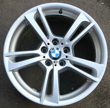 "One BMW 19"" X3 Twin Spoke Alloy Wheel Used 8.5J F25 369m 369 X4 F26 7844250"