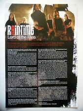 COUPURE DE PRESSE-CLIPPING :  RAINTIME 2007 Luca Michael Martina,Files & Lies
