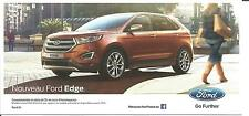 Carte potale Postcard NEW FORD EDGE 2014 SALON DE L'AUTO PARIS