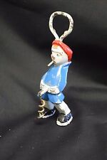 Vintage Corkscrew and Bottle Opener Naughty Clown Smoking and Urinating