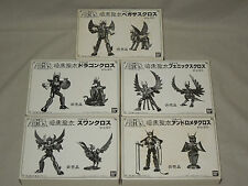 Vintage Bandai Black Saint Seiya Complete 5 set Not for sale For campaign Japan
