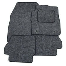 Perfect Fit For Vauxhall Adam Anthracite Grey Carpet Car Mats with Black Trim