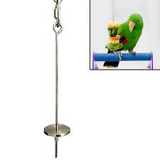 Bird & Small Animal Stainless Steel Skewer Fruit Spear Holder parrot Budgie New