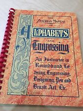 The Zanerian Manuel Of Alphabets And Engraving