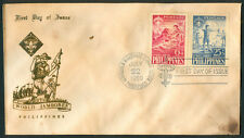 1959 Philippines 10th World Jamboree First Day Cover E