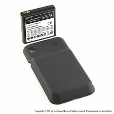 NEW 3500mAh extended battey Samsung Galaxy S i9000 + Back Cover