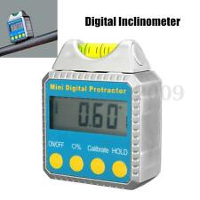Digital Protractor Bevel Box Inclinometer Goniometer Angle Gauge Meter Measurer