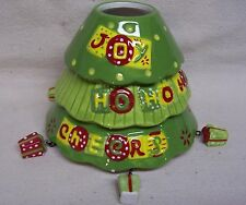 Home Interiors Christmas Tree With Hanging Presents Candle Shade NEW Without Box
