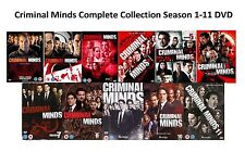 CRIMINAL MINDS Complete Collection Series 1-11 DVD Box Set Season 1 to 11 UK NEW