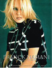 PUBLICITE ADVERTISING 074  1999  FRANCK NAMANI  pulls ultimum cashemere