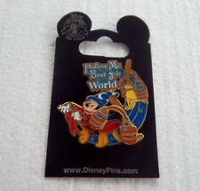 *~*DISNEY WDW CAST EXCLUSIVE FOLLOW ME TO THE BEST JOB IN THE WORLD 3D PIN*~*