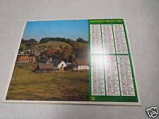 ALMANACH PTT calendrier des postes 1980 OBERTHUR ETIENNE PAVILLON *