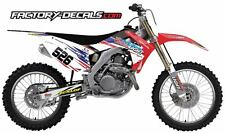Honda Full Plastics and Coors Graphics crf cr 125 250 450 1995-present