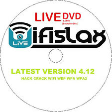 WifiSlax 4.12 Bootable DVD WIFI Hacking/Cracking Software (WEP WPA WPA2)