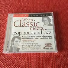 WHEN CLASSIC MEETS POP ROCK AND JAZZ - Classic FM Audio CD Album NEW SEALED MINT