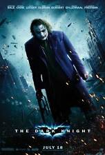 THE DARK KNIGHT Poster Movie G (27x40) Heath Ledger JOKER BATMAN