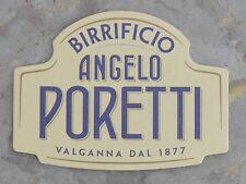 Sous-bock de bière Angelo Poretti, rare, très bon état