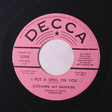 SCREAMIN' JAY HAWKINS: I Put A Spell On You / You're An Exception To The Rule 4