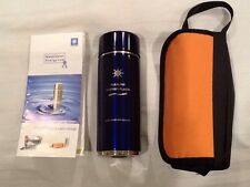 Blue Alkaline Energy Flask - Alkalizing Water Bottle - Nanometer Energy Cup