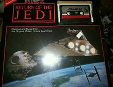The Story of Star Wars Return of the Jedi Cassette tape and Book  SEALED