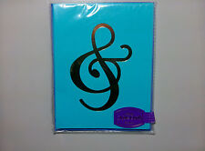 Pack Of 6 Blue G-Clef Treble Clef Blank Music Note Cards And Envelopes