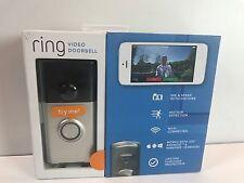 NEW Ring Wireless Wi-Fi Video Camera Door Bell Doorbell Intercom Satin Nickel