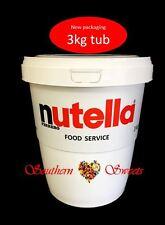 NUTELLA 3KG JAR NUTELLA TUB 3KG CHRISTMAS BIRTHDAY FATHERS DAY GIFT IDEA