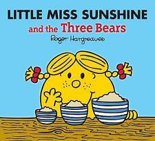 NEW sparkly LITTLE MISS SUNSHINE and the THREE BEARS ( BUY 5 GET 1 FREE ) Mr Men
