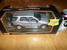 1997 MERCEDES-BENZ ML 320 SUV, SILVER, Die Cast Metal Model Toy SUV, SCALE: 1/18