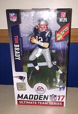 McFarlane Tom Brady NFL Madden 17 EA Sports Ultimate Figure New England Patriots