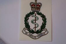 "2 X  R A M C  REGIMENT  STICKERS  4"" BRITISH ARMY USA  MILITARY INSIGNIA"