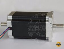 free to DE dual shaft 4-lead nema 34 stepper motor 1232OZ /5.6A  116MM 34HS1456B