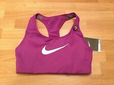 BNWT Ladies Purple Nike DRI-FIT High Support Racer Back Sports Bra - Size XS