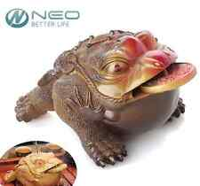 NEW Lucky Money Styles Toad Figurine Frog Feng Shui Chinese Coin Home Ornaments