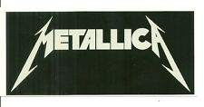 RARE / AUTOCOLLANT - METALLICA : STICKERS / COMME NEUF - LIKE NEW