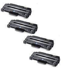 4Toner für ML1915 D SP ML2525 K SCX4600 FN SCX4623 FN ersetzt Samsung MLT-D1052L