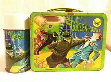 The Green Hornet Lunch Box with Thermos King Seeley Industries 1967 Rare