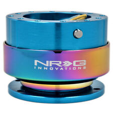 NRG Gen 2.0 Steering Wheel Quick Release Hub NEW BLUE Body / NEO Chrome Ring