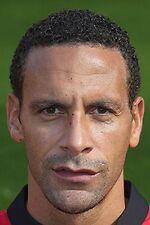 Football Photo RIO FERDINAND Man Utd 2013-2014