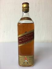 Johnnie Walker Red Label Old Scotch Whisky Tappo Di Sughero Vintage