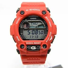 Casio G-Shock G-7900A-4D Low Temperature Moon Data Tide Graph Red Resin Watch