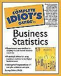 The Complete Idiot's Guide to Business Statistics-ExLibrary