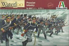 ITALERI 1:72 SOLDATINI PRUSSIAN INFANTRY WATERLOO 48 FIGURE  ART 6067