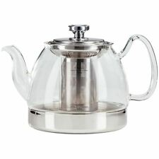 Judge Hob Top Glass Teapot with Infuser ALL Hob Types, 1.2L - TC348