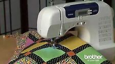 Brother Sewing Machine Computerized Embroidery Quilting Buttonhole Walking Foot